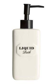 Pompe à savon en céramique | H&M, 7.99€