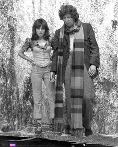Doctor Who Doctor and Sarah Jane, Planet Of Evil 2 4th Doctor, First Doctor, Good Doctor, Sarah Jane Smith, Dr Sarah, Dr Who Tom Baker, Die Füchsin, Original Doctor Who, Doctor Who Companions