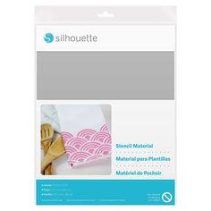 Amazon.com: Silhouette Stencil Material Sheets - Non-Adhesive