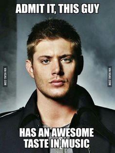 Dean Winchester ladies and gentlemen Mais