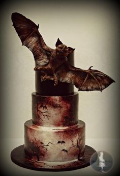 Bat Creature Cake - Cake by Tonya Alvey