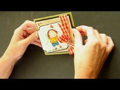 T-Slide Card - Splitcoast Stampers