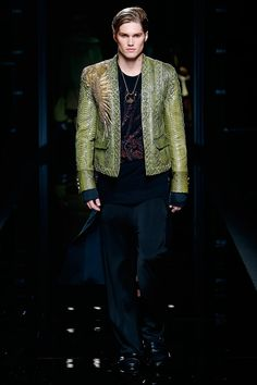 Olivier Rousteing presented his Fall/Winter 2017 collection for Balmain during Paris Fashion Week.