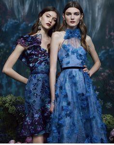 Marchesa Notte Pre-Fall 2019 Fashion Show Style Couture, Couture Fashion, Runway Fashion, Fashion Show, Fashion Outfits, Luxury Fashion, Fashion Trends, Vogue Paris, Pageant Dresses