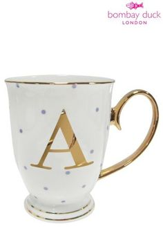 Bombay Duck Alphabet Mugs