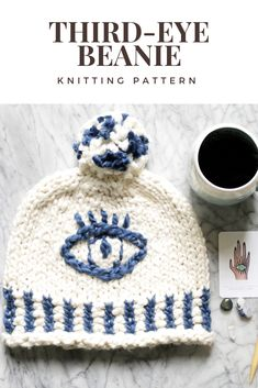 How to knit a chunky cotton beanie for Spring with Vickie Howell