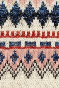 Isabel Marant|Moonsfield intarsia wool-blend sweater|NET-A-PORTER.COM