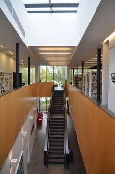 Bibliothèque Guy-Bélisle par ACDF architecture, ville de St-Eustache, Québec