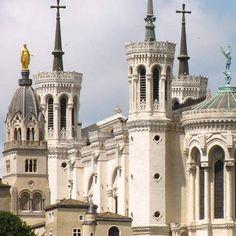 Notre-Dame de Fourvière in Lyon   Bezienswaardigheden Lyon @ CitySpotters Stedentrips