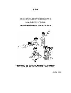 Guia-de-estimulacion-temprana[1] Short O, Baby Learning, Early Childhood Education, Special Education, Games For Kids, Teaching, My Love, School, Montessori