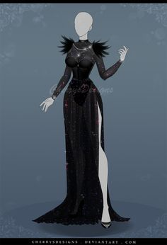 (CLOSED) Auction Adopt 587 - Dark Opal by CherrysDesigns.deviantart.com on @DeviantArt