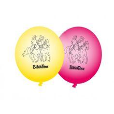 Bibi & Tina: 8 Luftballons (Party-Dekoration)