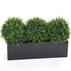 Fibreglass Trough Planter - 4 Sizes - Black – Allissias Attic & Vintage French Style