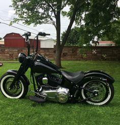 Custom Harley Davidson softail slim