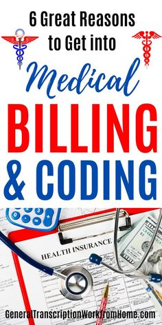 Why you may want to consider getting a career in medical coding and billing.  Medical coders and billers assign codes to diagnoses and procedures to bill patients. There is a shortage of medical coders and this opens up many medical coding jobs. #medicalcoding #medicalbilling #medicalbillingandcoding #medicalbillingjobs #medicalcodingjobs #coding #billing #onlinejobs #remotejobs Transcription Jobs From Home, Medical Coder, Medical Billing And Coding, Medical Careers, Online Side Jobs, Best Online Jobs, Legitimate Work From Home, Work From Home Jobs, Pharmacy Assistant