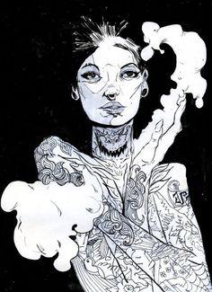 Tattoo art. | 8negro