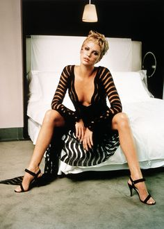 Keeping it sexy - Charlize Theron