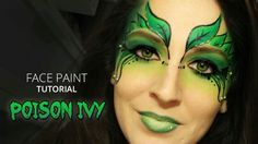 welcome to the halloween season aka hanzoween poison ivy gets super sexy with this makeup and body painting tutorial mixing a wilted le