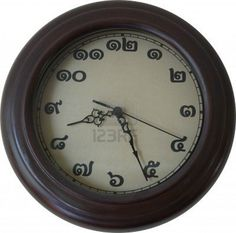 Thai Clock Clocks, Design, Home Decor, Languages, Decoration Home, Room Decor, Watches