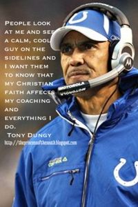 Tony Dungy, conservative and former head coach of the Tampa Bay Buccaneers and the Indianapolis Colts