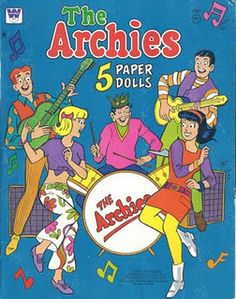 The Archies paper dolls
