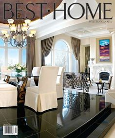 Tammy Mackay's  residential work on the spring 2010 Best Home cover.