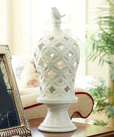 Look what I found on #zulily! Tall Dome Candleholder #zulilyfinds