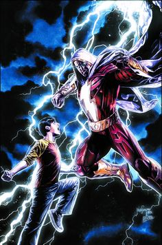 Hot New Release! Injustice: Gods Among Us - After a hard-fought battle against Black Adam, Superman and Wonder Woman decide on a desperate tactic to ensure that he remains subdued. But Shazam (and his alter ego, Billy Batson) wonders if this is t Dc Heroes, Comic Book Heroes, Comic Books Art, Comic Art, Dc Comics Characters, Dc Comics Art, Marvel Dc Comics, The Flashpoint, Captain Marvel Shazam
