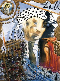 The Whole Dali in a Face - Salvador Dali - WikiPaintings.org