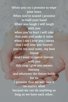 19 new Ideas wedding vows for him i promise Love Poems Wedding, Wedding Vows For Him, Funny Wedding Vows, Wedding Vow Art, Wedding Readings, Do It Yourself Wedding, Wedding Quotes, Trendy Wedding, Wedding Ceremony