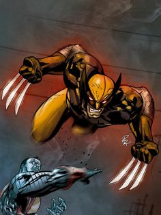 Colossus and Wolverine Fastball Special