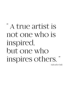 Quote Salvador Dali - Inspiration