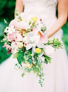 Lucius pastel bouquet: #pink #bouquet: www.jenhuangblog.com