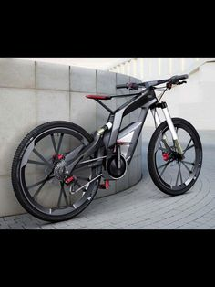 Audi Bike, Here is a better picture of the whole Bike!!