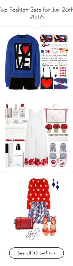 """""""Top Fashion Sets for Jun 26th, 2016"""" by polyvore ❤ liked on Polyvore featuring River Island, Love Moschino, Moschino, adidas, Brooks Brothers, Jennifer Meyer Jewelry, Essie, Yves Saint Laurent, polyvoreditorial and licethfashion"""