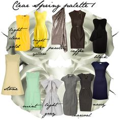 Clear Spring palette 1, created by carolgrant on Polyvore