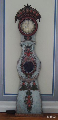 Mora clock from the north of Sweden, made in the 19th century