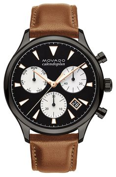 Movado launches new sports watches Series 800 & Heritage Calendoplan Chronograph. Get to know these new timepieces in our latest article.