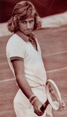 Bjorn Borg in 1974 at the age of 17. Photo by Diana DiGiacomo.Who I would think is related to the great tennis photographer,Mel DiGiacomo.