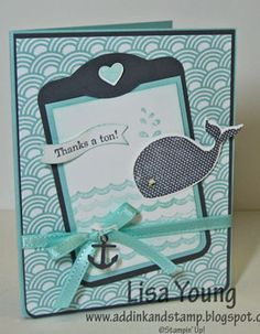 Oh Whale! and Tag by genesis - Cards and Paper Crafts at Splitcoaststampers