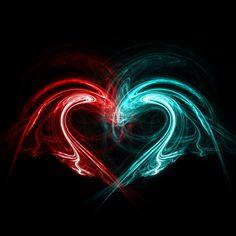 fire and ice heart by on DeviantArt Heart Of Ice, Dragon Heart, Fire Dragon, Heart Pictures, Heart Images, Heart Wallpaper, Galaxy Wallpaper, Benfica Wallpaper, Coeur Gif