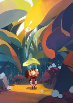 Cute Illustration, Character Illustration, Digital Illustration, Illustration For Children, Character Art, Character Design, Environment Concept Art, Futurama, Environmental Art