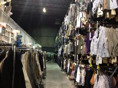 """""""One of two HUGE warehouses for the clothes on Supernatural. It's enormous and impressive"""" credit: @clarissa373 via twitter"""