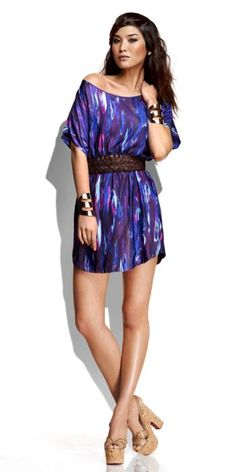 Love this Express print dress! Totally need it.