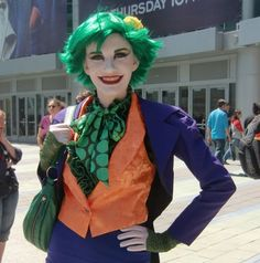 28 of the sexiest cosplays of Batman's arch nemesis, The Joker.