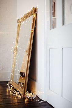 * gilded & fairy lights.