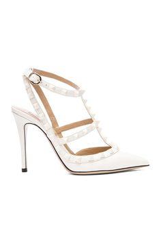 cc8e2db246 Rockstud Punkouture Patent Slingbacks T.100 Valentino Rockstud Shoes,  Wedding Shoes, Wedding Dresses