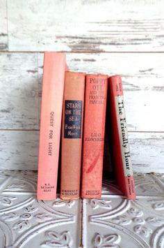 Pink Books Instant Library Collection by Color
