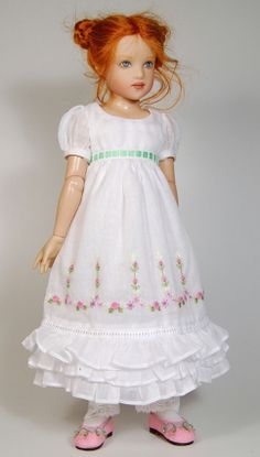a repin of a dress by Boneka, reminiscent of Kate Greenaway (Kish Piper)