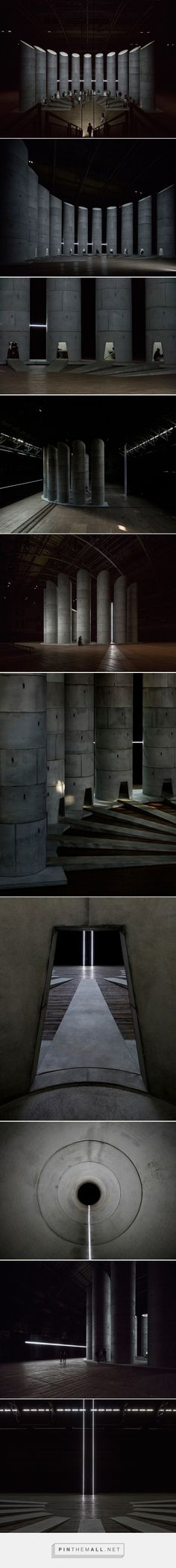 OMA + taryn simon install concrete wells for mourners in NY - created via…